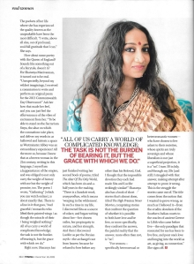 Sharanya Manivannan Femina 2